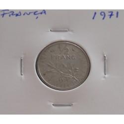 França - 1/2 Franc - 1971