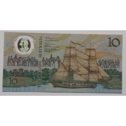 Austrália - 10 Dollars - 1988