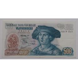 Bélgica - 500 francs -...