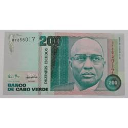 Cabo Verde - 200 Escudos -...