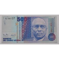Cabo Verde - 500 Escudos -...
