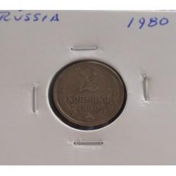 Rússia - 2 Kopeks - 1980