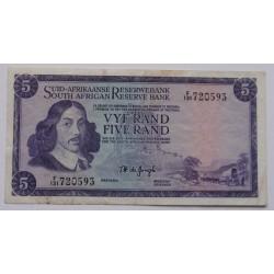 África do Sul - 5 Rand - 1975