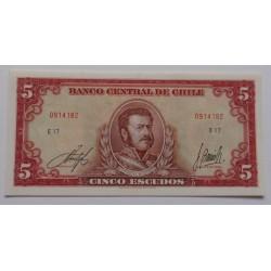 Chile - 5 Escudos - 1964 -...