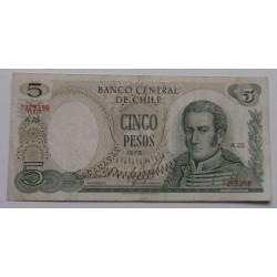 Chile - 5 Pesos - 1975