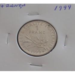França - 1 Franc - 1999