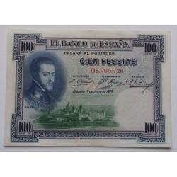 Espanha - 100 Pesetas -...