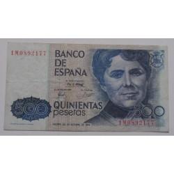 Espanha - 500 Pesetas -...