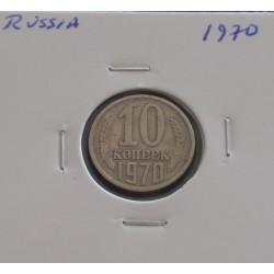 Rússia - 10 Kopeks - 1970