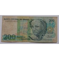 Brasil - 200 Cruzeiros - 1990