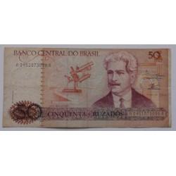 Brasil - 50 Cruzados - 1986