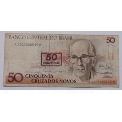 Brasil - 50 Cruzeiros, S/...