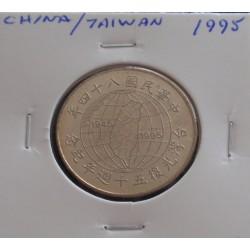 China / Taiwan - 10 Yuan -...