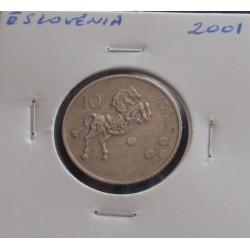 Eslovénia - 10 Tolarjev - 2001