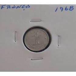 França - 1 Centime - 1968