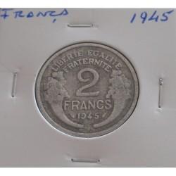 França - 2 Francs - 1945