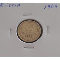 Rússia - 2 Kopeks - 1969