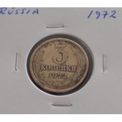 Rússia - 3 Kopeks - 1972