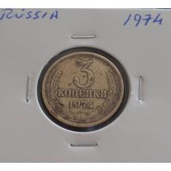 Rússia - 3 Kopeks - 1974
