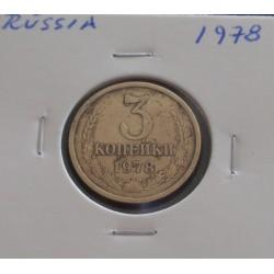 Rússia - 3 Kopeks - 1978