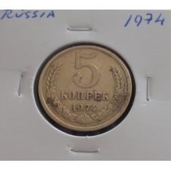 Rússia - 5 Kopeks - 1974