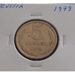 Rússia - 5 Kopeks - 1979