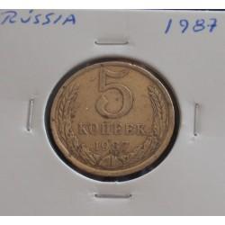 Rússia - 5 Kopeks - 1987