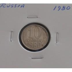 Rússia - 10 Kopeks - 1980