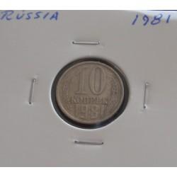 Rússia - 10 Kopeks - 1981