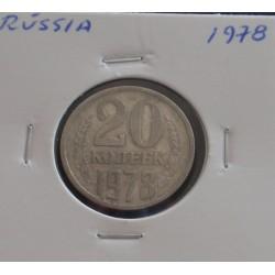 Rússia - 20 Kopeks - 1978