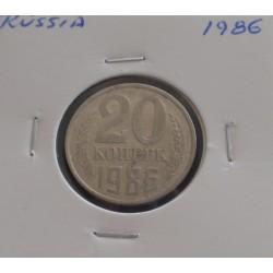 Rússia - 20 Kopeks - 1986
