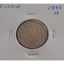 Rússia - 10 Roubles - 1993 M