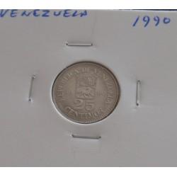 Venezuela - 25 Centimos - 1990
