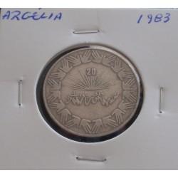 Argélia - 1 Dinar - 1983