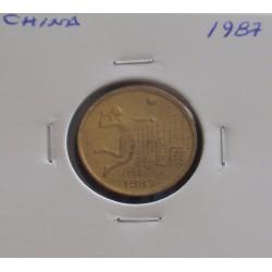 China - 1 Jiao - 1987
