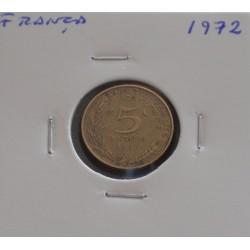 França - 5 Centimes - 1972