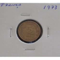 França - 5 Centimes - 1973