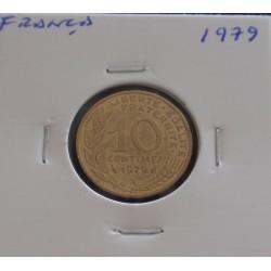 França - 10 Centimes - 1979