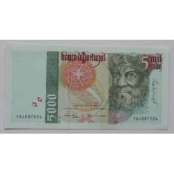 Portugal - 5000 Escudos -...