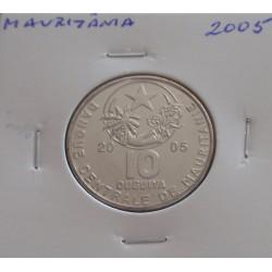 Mauritânia - 10 Ouguiya - 2005