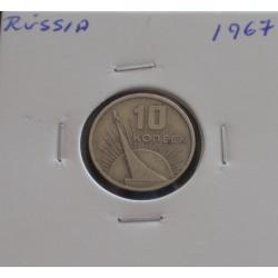 Rússia - 10 Kopeks - 1967