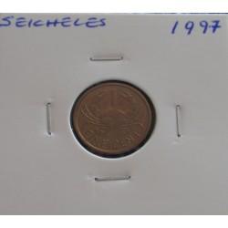 Seicheles - 1 Cent - 1997