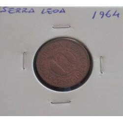 Serra Leoa - 1/2 Cent - 1964