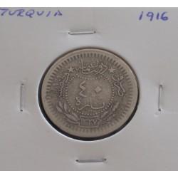 Turquia - 40 Para - 1916