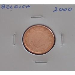 Bélgica - 2 Centimos - 2000