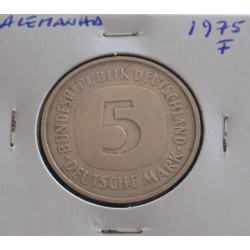 Alemanha - 5 Mark - 1975 F