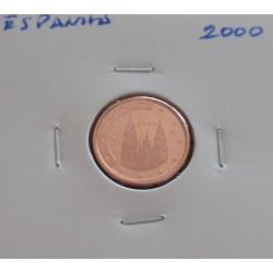 Espanha - 1 Centimo - 2000