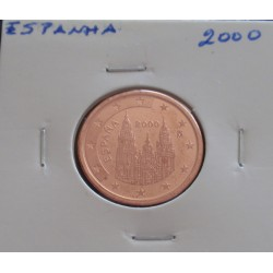 Espanha - 5 Centimos - 2000