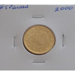 Espanha - 10 Centimos - 2000