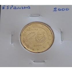 Espanha - 20 Centimos - 2000
